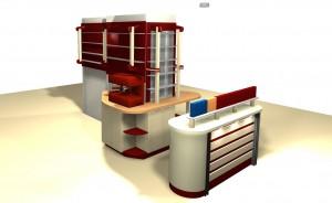 Дом Кофе: дизайн барной стойки 5.1