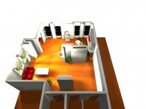 Дом Кофе: дизайн барной стойки 7.2.1