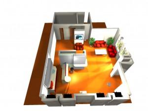 Дом Кофе: дизайн барной стойки 7.2.4