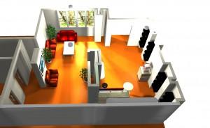 Дом Кофе: дизайн барной стойки 7.2.5