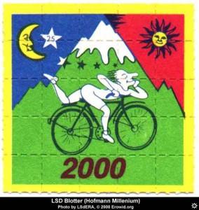 LSD Blotter Hofmann