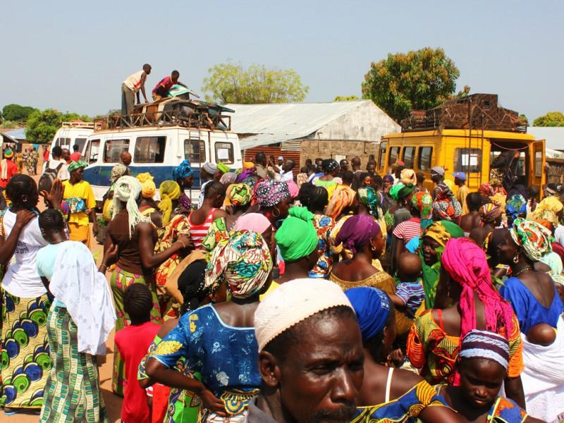 африканский автобус