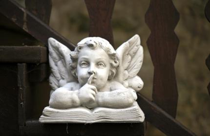 ангел молчит