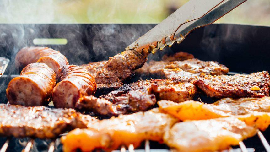 маёвка шашлык мясо барбекю