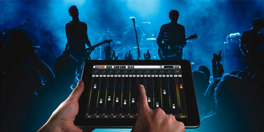 Soundcraft UI16 iPad