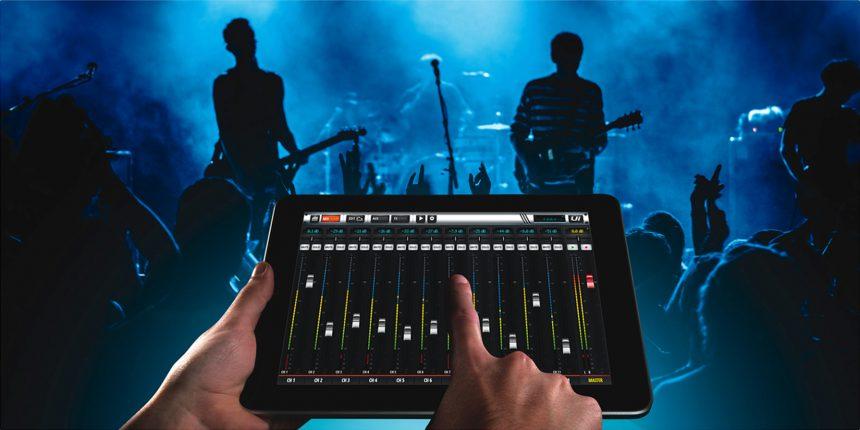 Soundcraft UI16 iPad