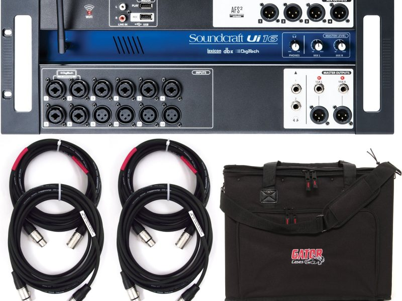 Soundcraft UI16 XLR
