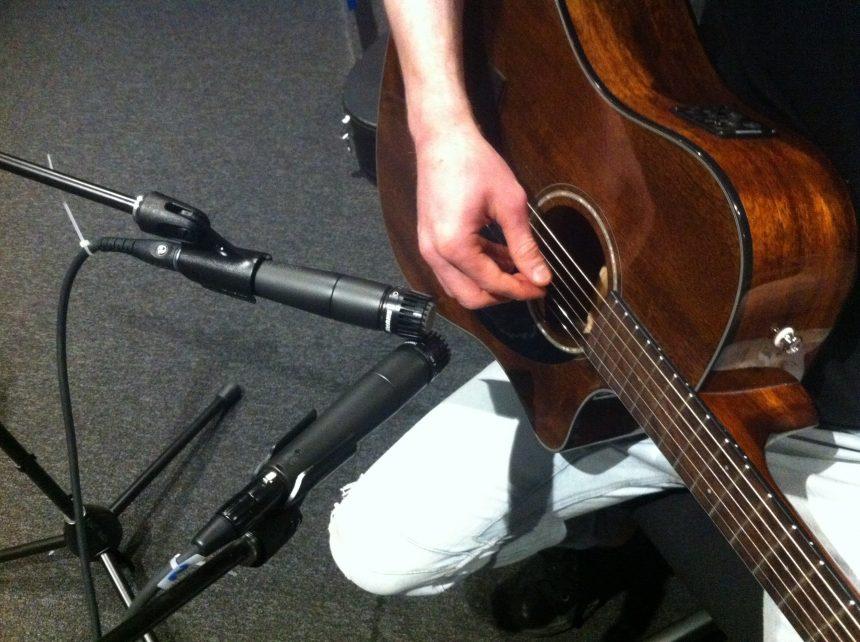 Shure SM57 guitar recording