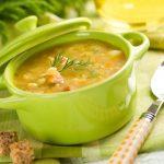 Volksdeutsche Sprechen die Suppe Natürlich